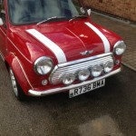 Red Mini polished and waxed